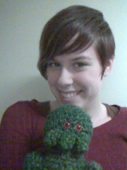 Just when it started to get long again, I cut all my hair off shorter than ever! =D